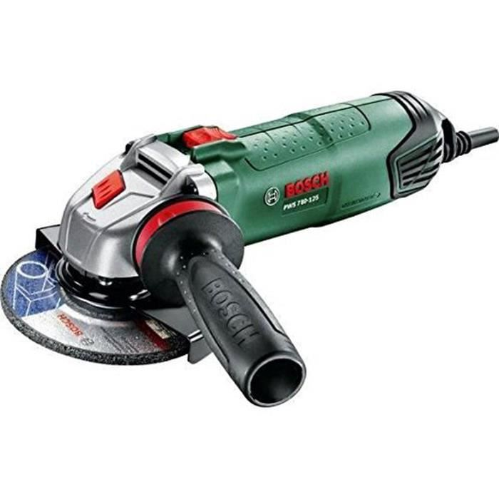 BOSCH Meuleuse Angulaire 125mm PWS 780-125 780W  06033a27035