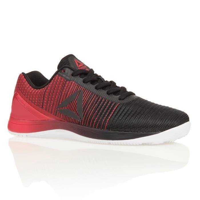 REEBOK Chaussures de Fitness Crossfit Nano 7.0 B2 Homme Noir Blanc et Rouge