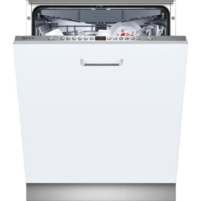 Neff S513N60X3E Lave-vaisselle - 14 couverts - 44 dB - A++  - Large60cm - Blanc - Moteur Efficient S