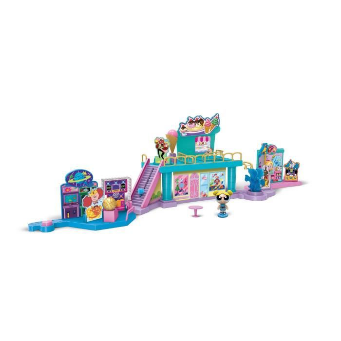 POWERPUFF GIRLS Playset Storymaker Centre Commercial