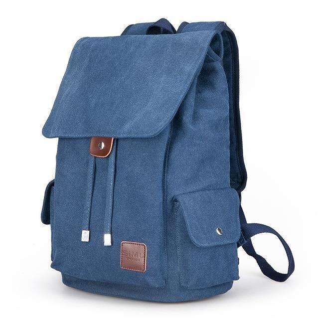 sac à dos Mode Hommes Femmes Toile Ecole étudiants Loisirs Voyage