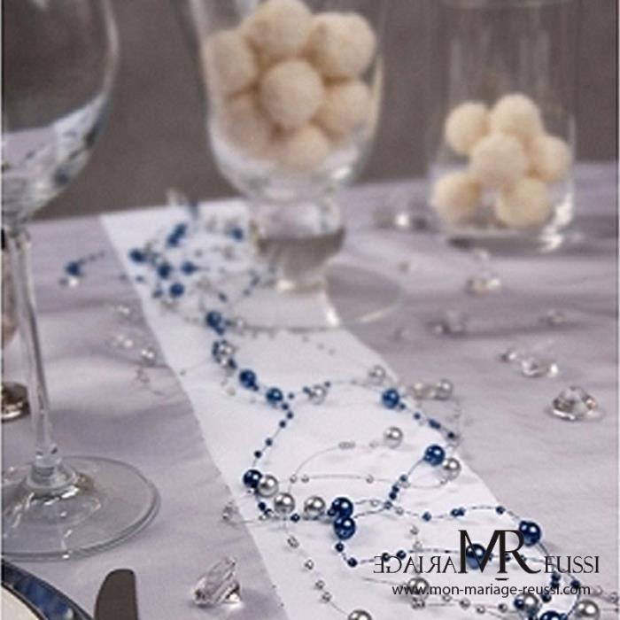 Decoration Mariage Bleu Marine Achat Vente Pas Cher