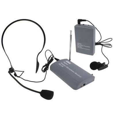 Microphone Sans Fil / Clip-on Casque (sh-600)