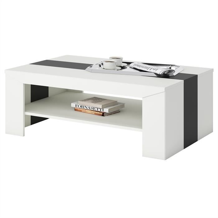 Table basse blanche achat vente table basse blanche - Table basse conforama blanche ...