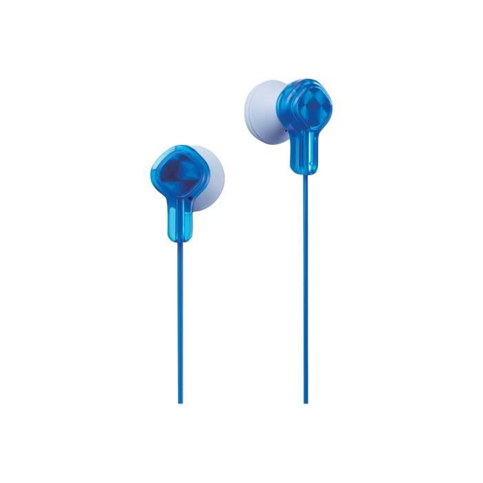 Jvc Tinyphones Ha-kd1 Écouteurs Embout Auriculaire Jack 3,5mm Bleu