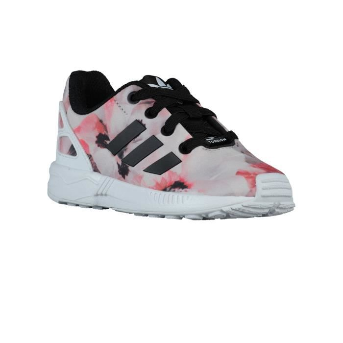 finest selection 3c603 14c16 BASKET Chaussures Zx Flux Bebe Pink Flower - Adidas
