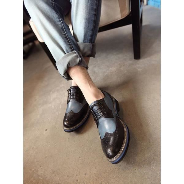 chaussures vintage bleu. Black Bedroom Furniture Sets. Home Design Ideas