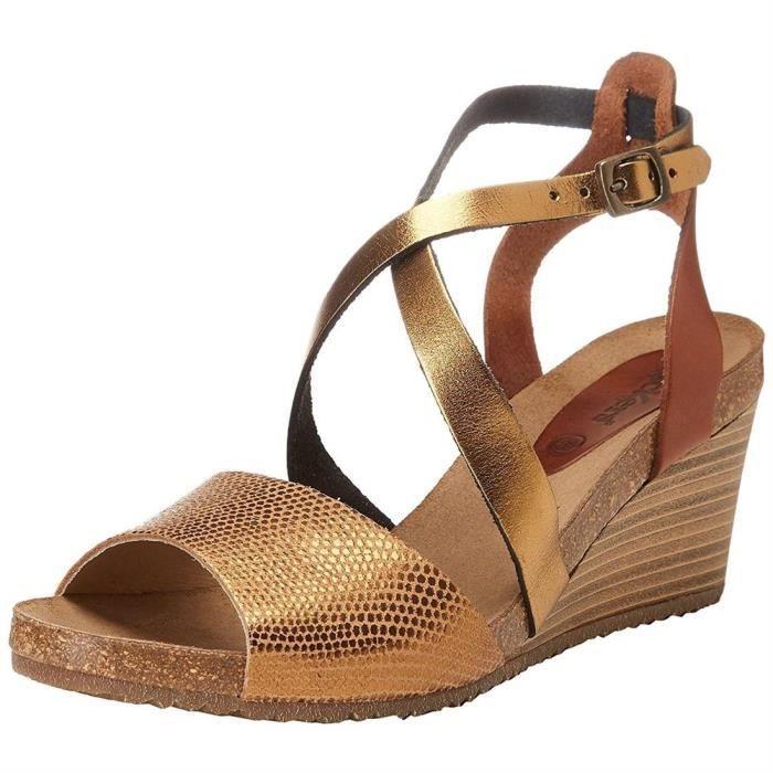 sandales/nu-pieds spagnol femme kickers 419302