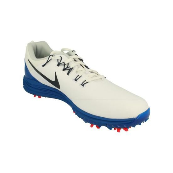 reputable site dafb2 e7fd2 Nike Lunar Command 2 Hommes Golf Chaussures 849968 Sneakers Trainers 103  Blanc Blanc - Achat   Vente basket - Cdiscount