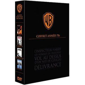 DVD FILM DVD Coffret Années 70 : L'inspecteur Harry ; Le...