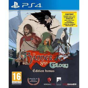 JEU PS4 The Banner Saga Trilogy Edition Bonus Jeu PS4