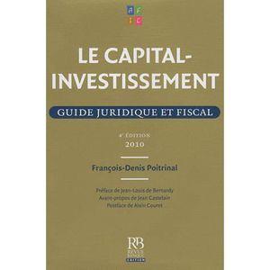 LIVRE DROIT AFFAIRES Le capital-investissement