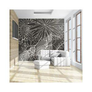 papier peint blanc et noir achat vente papier peint blanc et noir pas cher cdiscount. Black Bedroom Furniture Sets. Home Design Ideas
