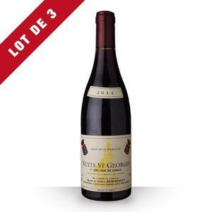 VIN ROUGE 3X Domaine Remoriquet 2014 Rouge 75cl AOC Nuits-Sa