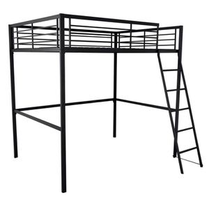 lit mezzanine 2 personnes achat vente lit mezzanine 2 personnes pas cher soldes d s le 27. Black Bedroom Furniture Sets. Home Design Ideas