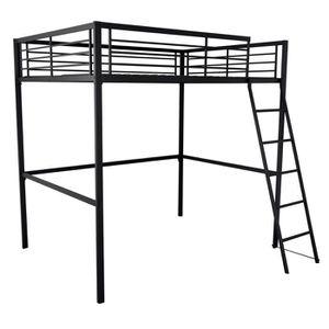 lit mezzanine 2 personnes achat vente lit mezzanine 2 personnes pas cher soldes d s le 27. Black Bedroom Furniture Sets. Home Design Ideas