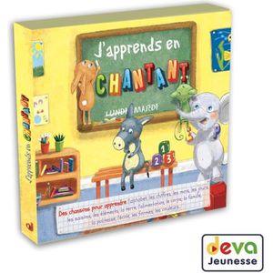 CD COMPTINES - ENFANTS J'apprends en chantant