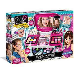 JEU DE MAQUILLAGE CLEMENTONI - Maquillage Artistique avec Applicatio