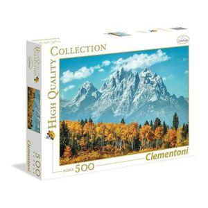 PUZZLE CLEMENTONI Grand Teton en automne Puzzle 500 pièce
