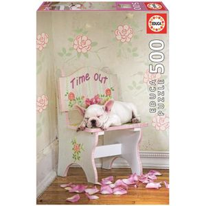 PUZZLE EDUCA Puzzle 500 Pièces - Taking Time Out Lisa Jan