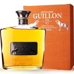 WHISKY BOURBON SCOTCH Guillon finition Vin de paille 70cl - Etui - Whisk