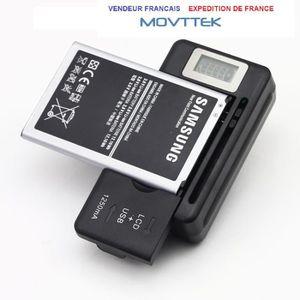 CHARGEUR TÉLÉPHONE Chargeur batterie Movttek® secteur écran lcd SAMSU