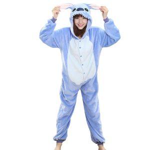 PYJAMA JOZSI Flanelle Pyjama Point Onesies Adultes Enfant