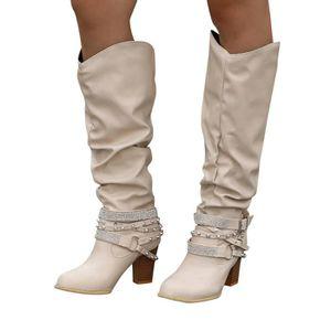 BOTTE Coierbr@Mode Bottines Chaussures à talon rétro Riv