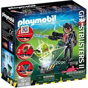 UNIVERS MINIATURE Nouveauté 2018 - PLAYMOBIL 9346 Ghostbuster
