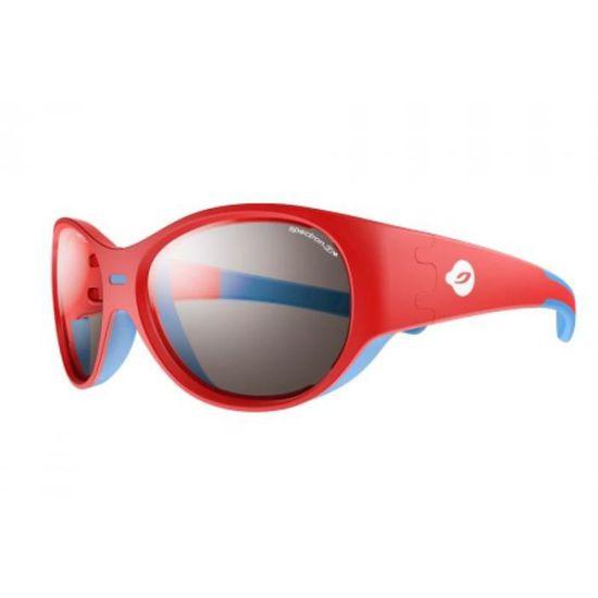 63bdde111733e8 Lunettes de soleil pour bébé JULBO Rouge Puzzle Rouge   Bleu - Verre   Spectron  3 + - Achat   Vente lunettes de soleil Mixte Enfant-Bébé - Cdiscount
