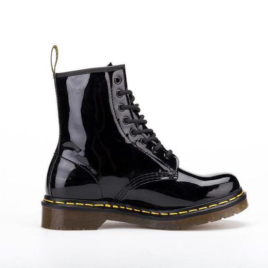 Homme de Femme martin bottes Chaussures de Homme Sports Baskets Bottines cuir verni Classic 1460 Blanc Blanc - Achat / Vente botte 1a4c8b