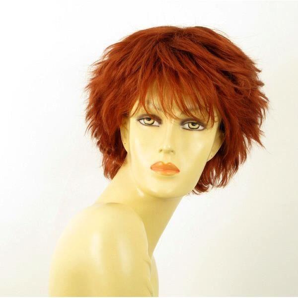 perruque femme naturel rousse NOELLE 130