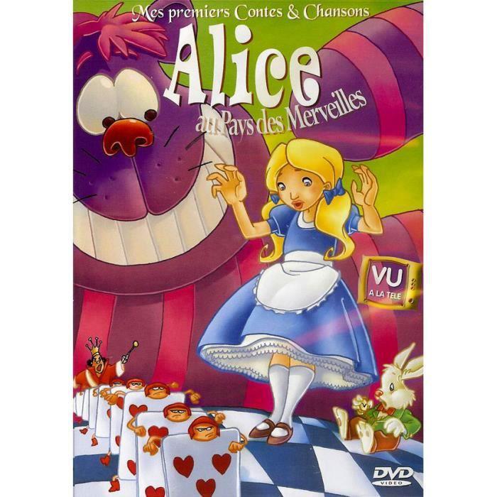 Alice au pays des merveilles mes premiers contes en dvd - La cuisine d alice au pays des merveilles ...