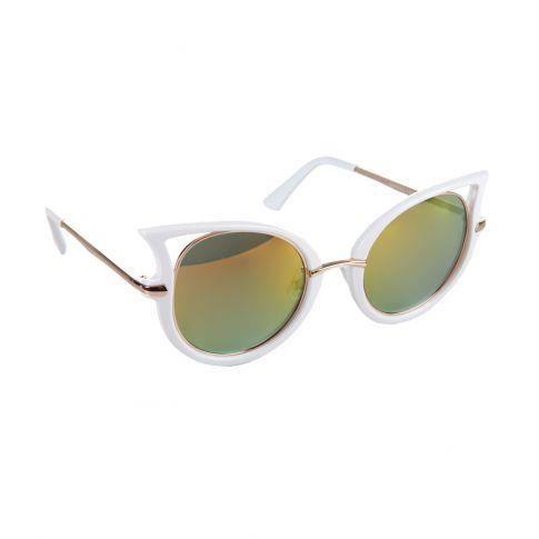 Lunettes de soleil Crazy blanc Blanc - Achat   Vente lunettes de ... 536e06e7347f