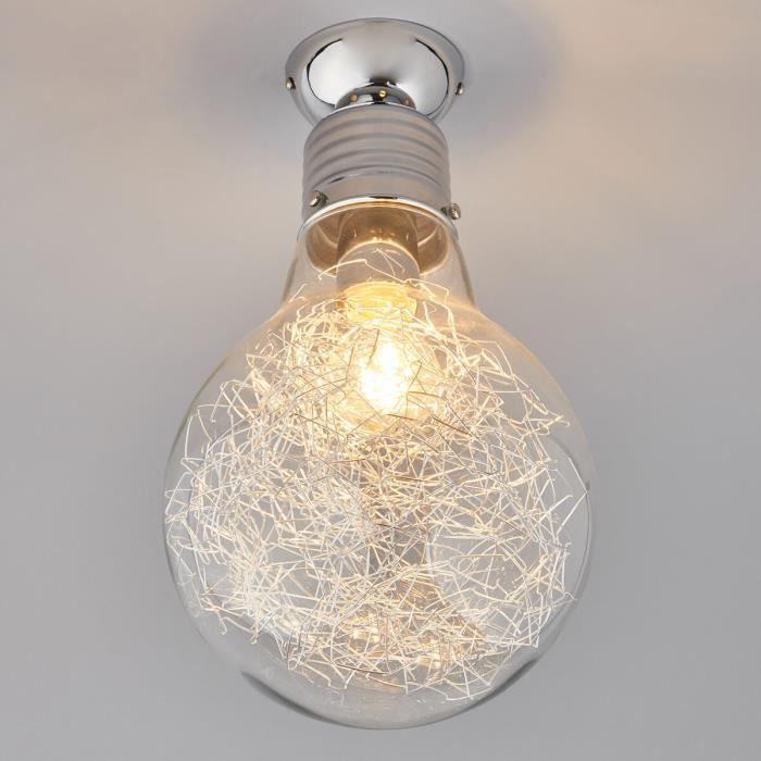 plafonnier rubi en forme d ampoule a incandescence 5 Luxe Plafonnier Ampoule Uqw1