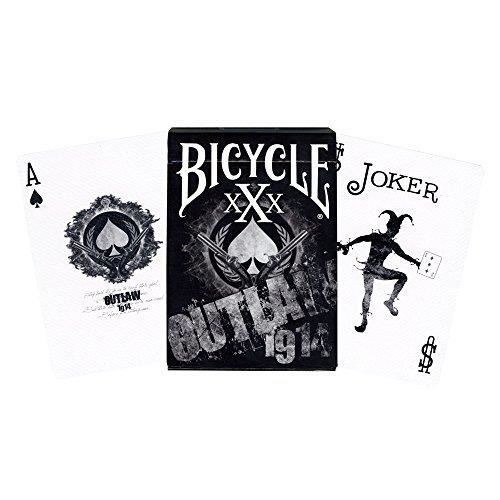 PARTITION MMS Outlaw Bicycle Deck by US Playing Card Trick