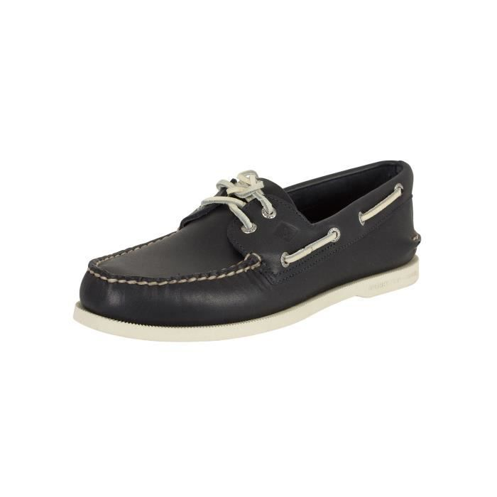Sperry Top-Sider Homme A Slip / O 2 Eye On Boat Shoes, Bleu