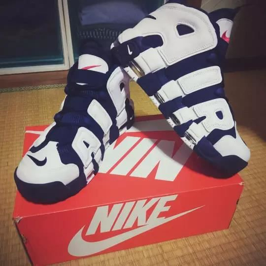 Nike Air more Uptempo Blue Olympic