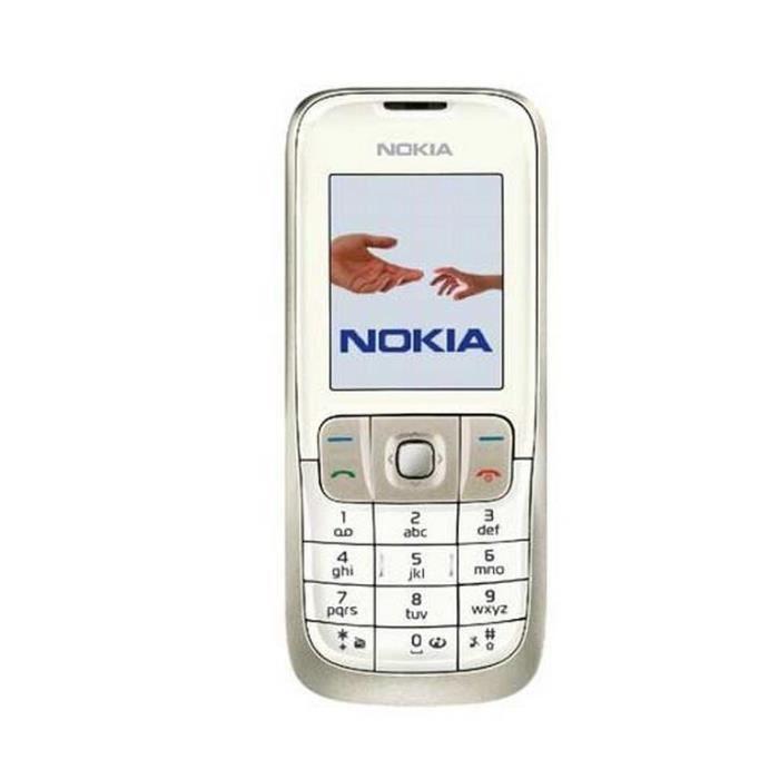 nokia 2630 blanc promo debloquer achat t l phone portable pas cher avis et meilleur prix. Black Bedroom Furniture Sets. Home Design Ideas