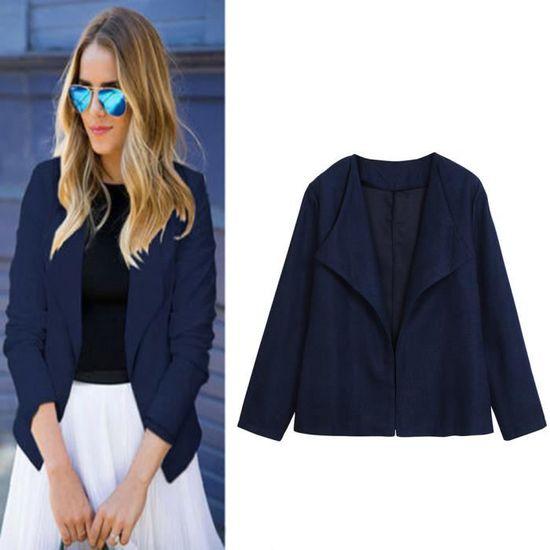 Outwear Blazer Mode Business Top Manteau Hotskynie®femmes Rwq5533 Casual Suit Slim Veste Bureau RHTXqz6
