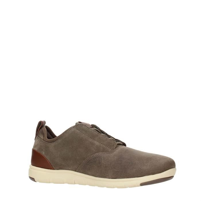 Geox Sneakers Homme NAVY, 45 Taupe
