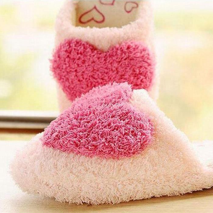 Chaussons femme Chaussure meilleur Haut qualité Nouvelle mode Grande Taille chaussure femme peluche hiver adulte marque chaude luxe