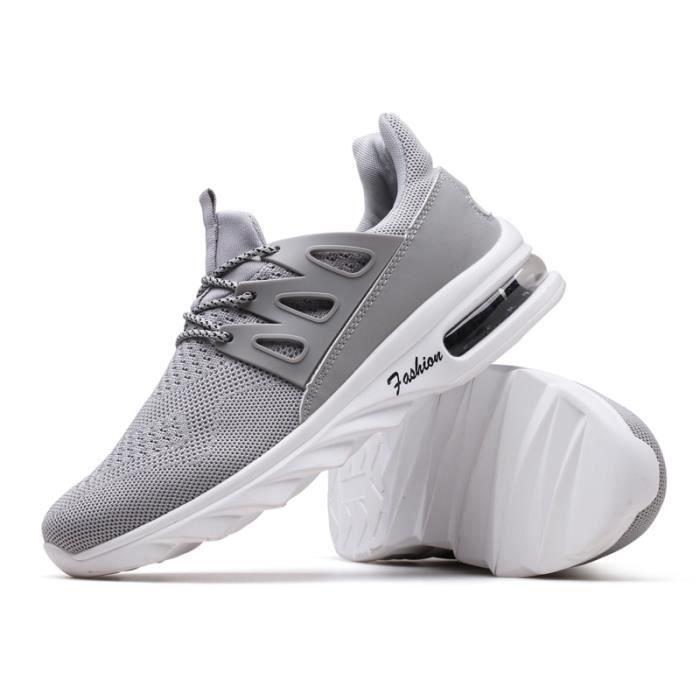 Coussin noir Basket Blanc Homme En rouge Masculines Sneakers Volant gris Chaussures Sport Tissu wqaTfI
