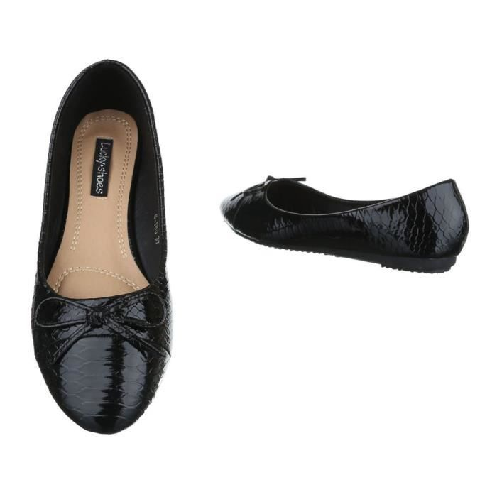 Taille Bow 3oody8 38 Flats Ballet Trendtwo Avant Femmes Ev1q6