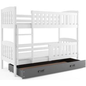 lits superposes lit tiroir achat vente pas cher. Black Bedroom Furniture Sets. Home Design Ideas