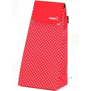 CHARIOT DE MARCHÉ Garmol - sac pour poussette de marché 55l rouge -