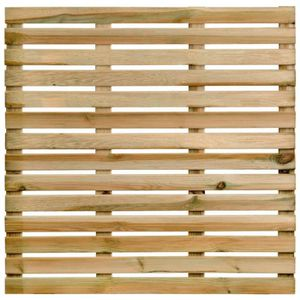 DALLAGE Dalle de terrasse en bois100cm  motif droit