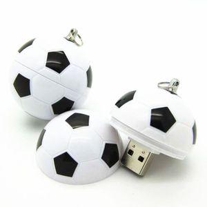CLÉ USB MOONAR@ Clé usb 8G  Football  USB 2.0 NOIR  USB 2.