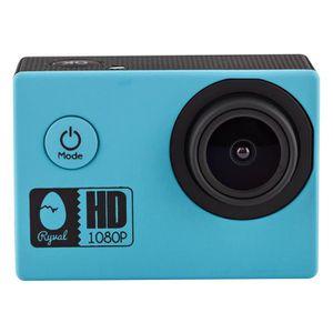 CAMÉRA SPORT RYVAL CAMY6 Caméra sport Y6 HD 1080p Bleue + 5 acc