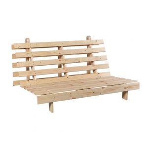 structure futon achat vente pas cher. Black Bedroom Furniture Sets. Home Design Ideas